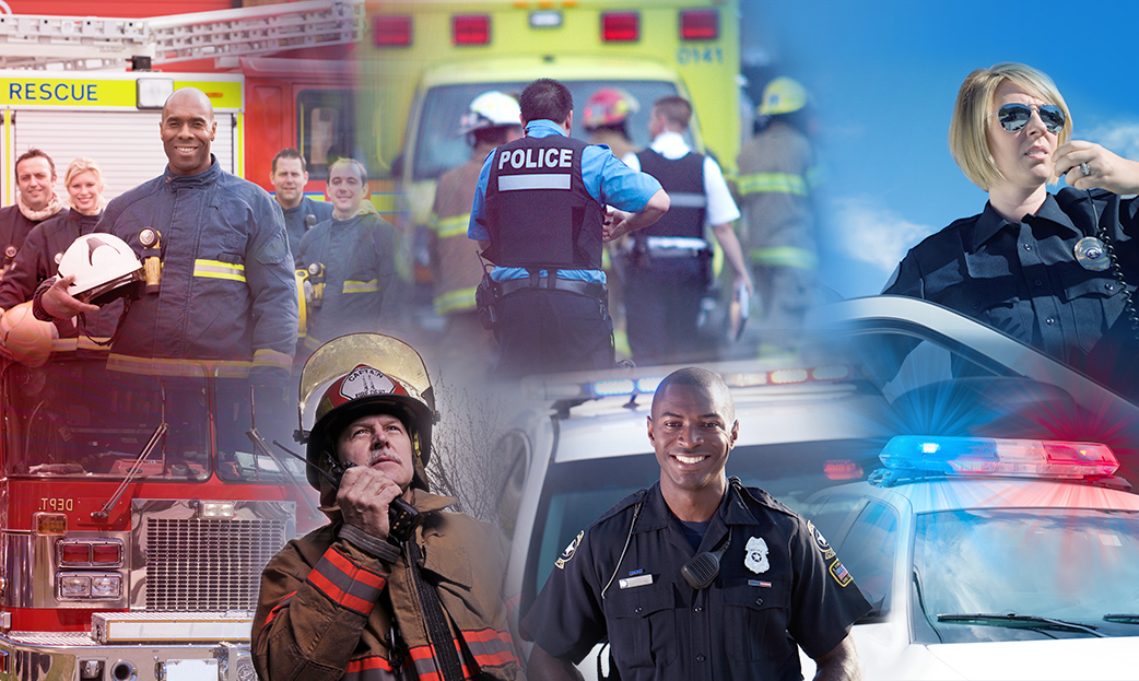 Collage of Emergency Services Personnel